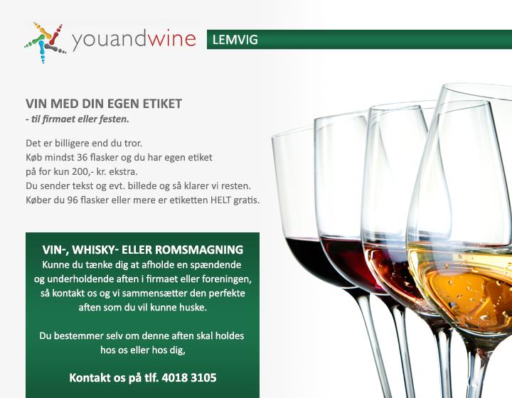 <b>You And Wine, Lemvig</b>
