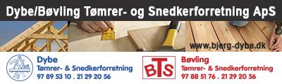 Dybe-Bøvling Tømrer- og Snedkerforretning ApS